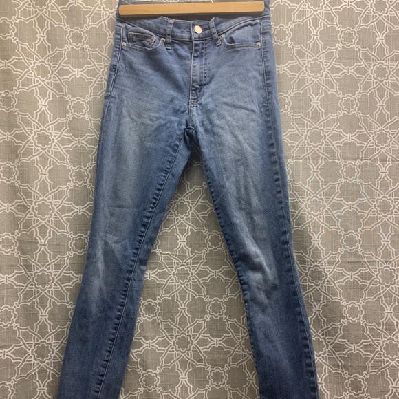 Gap True Skinny light wash jeans